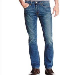 Levi 511 36 x 32 Straight Slim Fit Jeans
